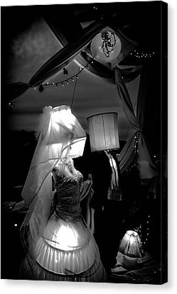 Canvas Print featuring the photograph Marriage Of Darkness And Light by Alan Raasch