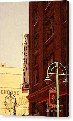 Marshall Bldg Canvas Print