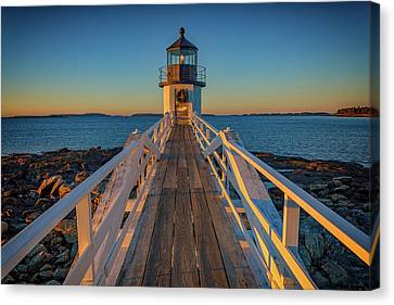 Marshall Point Light Station Canvas Print by Rick Berk
