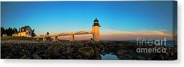Marshall Point Lighthouse Canvas Print by Diane Diederich