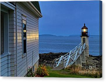 Marshall Point Lighthouse Canvas Print by John Greim