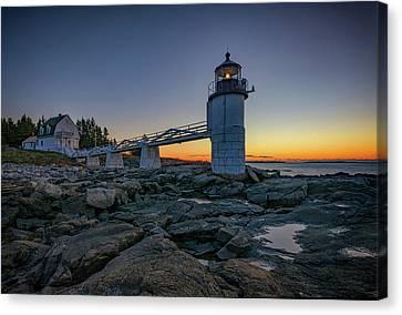 Marshall Point Lighthouse Canvas Print by Rick Berk