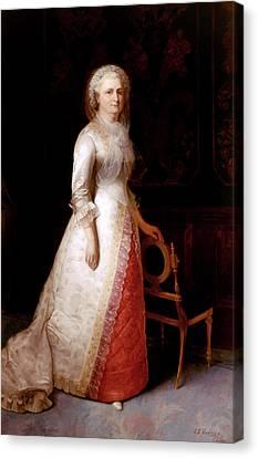 Martha Custis Washington Canvas Print