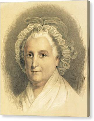 Martha Washington Canvas Print by American School