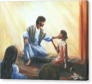 Martha's Repentance Canvas Print