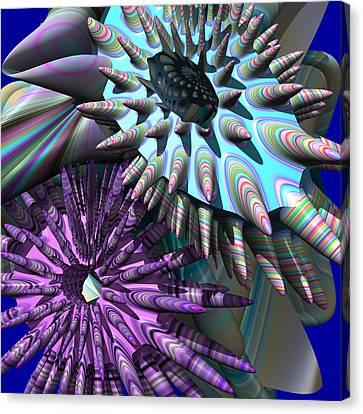 Martian Microbes Canvas Print by Mark W Ballard