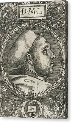 Albrecht Canvas Print - Martin Luther, 1521 by Albrecht Altdorfer