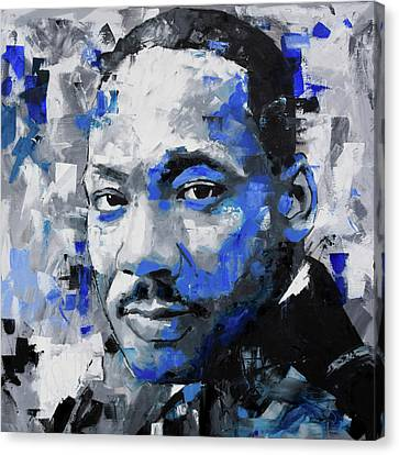 Martin Luther King Jr Canvas Print - Martin Luther King Jr by Richard Day
