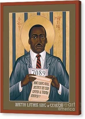 Christian Sacred Canvas Print - Martin Luther King Of Georgia  - Rlmlk by Br Robert Lentz OFM