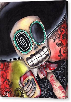 Martin Mariachi Canvas Print by  Abril Andrade Griffith