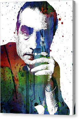 Martin Scorsese Canvas Print by Mihaela Pater