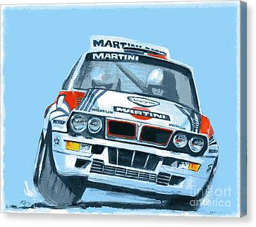 Martini Lancia Canvas Print