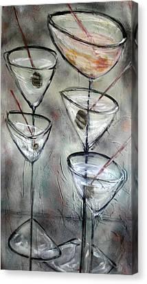 Martini Time Canvas Print