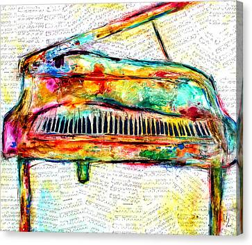 Marvelous Music Canvas Print by Ivan Guaderrama