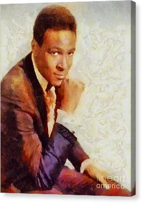 Marvin Gaye, Music Legend Canvas Print