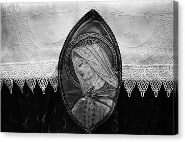 Mary Altar Cloth Canvas Print