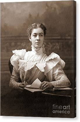 Mary Engle Pennington, American Chemist Canvas Print by Science Source