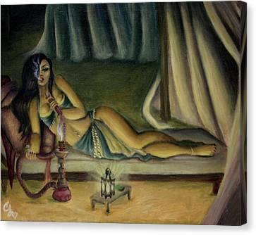Mary Jane Addington Canvas Print by C S