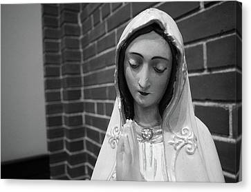 Canvas Print featuring the photograph Mary by Jeanette O'Toole