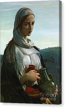 Mary Madgalen Canvas Print by JR Herbert
