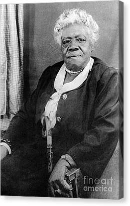 Mary Mcleod Bethune Canvas Print by Granger
