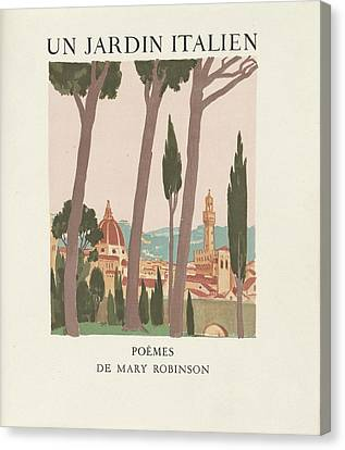 Mary Robinson Paris Maurice Denis Canvas Print by MotionAge Designs