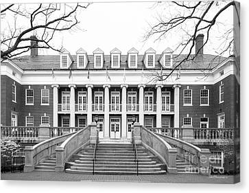 University Of Mary Washington Lee Hall Canvas Print by University Icons