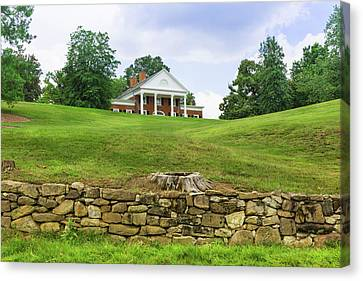 Canvas Print featuring the photograph Marye's House by John M Bailey