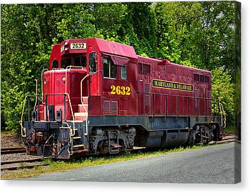 Maryland And Delaware Engine 2632 Canvas Print