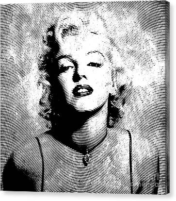Marilyn Monroe - 04a Canvas Print
