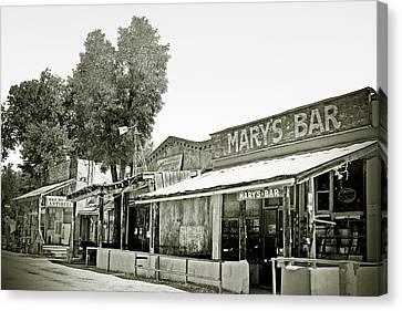 Mary's Bar Cerrillo Nm Canvas Print