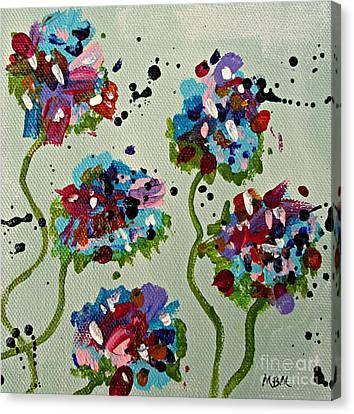 Mary's Garden No. 1 Canvas Print