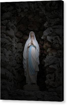 Marys Prayer II Canvas Print