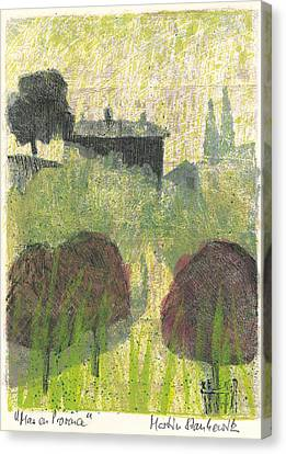 Mas En Provence Canvas Print