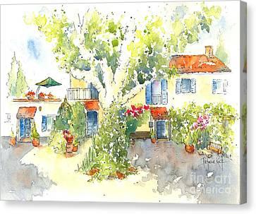 Mas St Antoine 2 Canvas Print