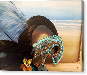 Mascarade Canvas Print by JAMART Photography