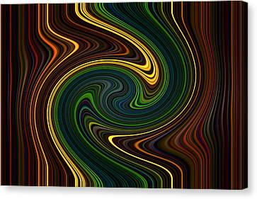 Masculine Waves Canvas Print