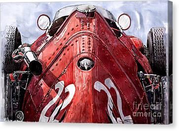 Maserati 250f Alien Canvas Print by Yuriy  Shevchuk