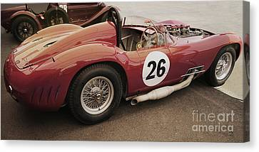 Maserati 450 S Canvas Print by Curt Johnson
