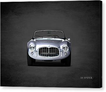Maserati A6 Spider Canvas Print by Mark Rogan
