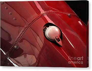 Maserati Fuel Cap Canvas Print by Curt Johnson