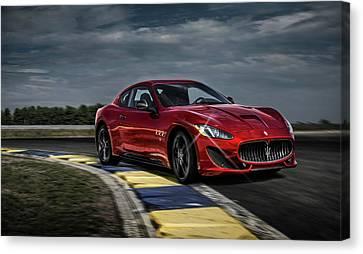 Maserati Gran Turismo G T Sport Canvas Print by Movie Poster Prints
