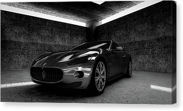 Computer Graphics Canvas Print - Maserati Gt by Mountain Dreams