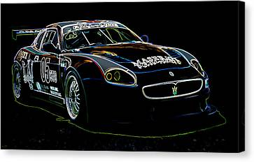 Maserati Canvas Print by Sebastian Musial