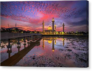 Masjid Tengku Ampuan Jemaah Canvas Print