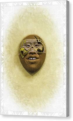 Mask 5 Canvas Print