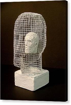 Mask Canvas Print by Gary Kaemmer