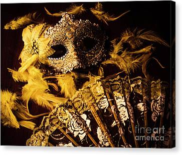 Mask Of Theatre Canvas Print by Jorgo Photography - Wall Art Gallery