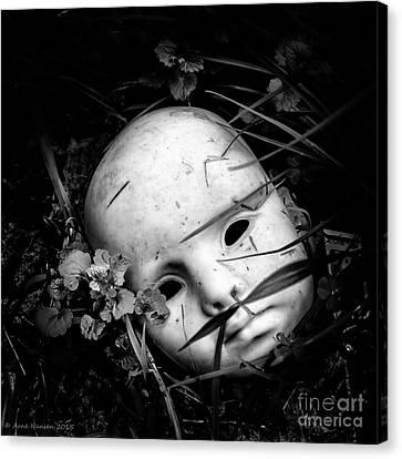 Masked Canvas Print by Arne Hansen