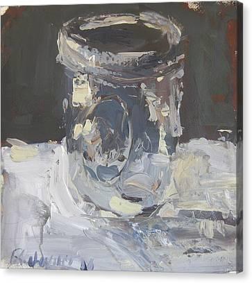 Canvas Print featuring the painting Mason Jar  by Robert Joyner